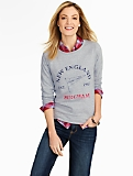 New England Flag Sweatshirt