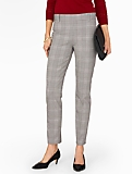Talbots Chatham Ankle Pant - Glen Plaid