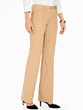 Cotton Viscose Bootcut Pant