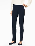 Bi-Stretch Tailored Side-Zip Slim-Leg Pant