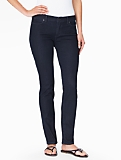 The Flawless Five-Pocket Straight Leg Jeans - Curvy/Deep Sea