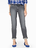 The Flawless Five-Pocket Boyfriend Jean - Oyster Wash