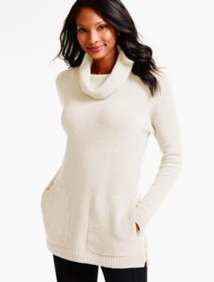Talbots Women's Boucle Tunic Sweater prdi40647
