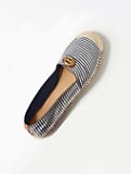 Ilia Striped Espadrille Flats