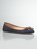 Jilly Denim Ballet Flats