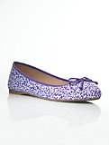 Jilly Leaf Liberty Print Ballet Flats