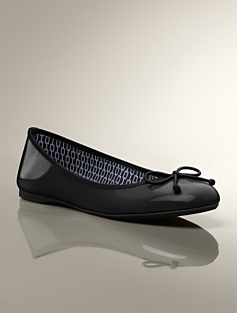 Jilly Patent Leather Ballet Flats
