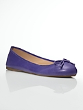 Jilly Tumbled Leather Ballet Flats