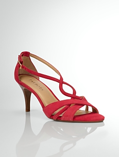 Lana Suede Strappy Sandals