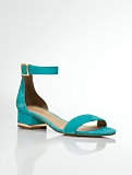 Parisi Suede Ankle-Strap Sandals