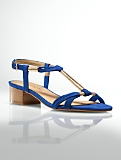 Peyton Flexible Wrap-Strap Sandals