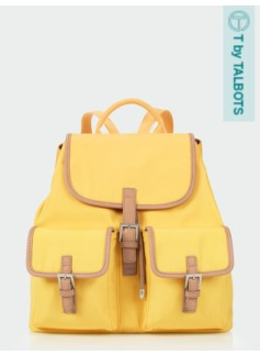 Buckle-Pocket Backpack