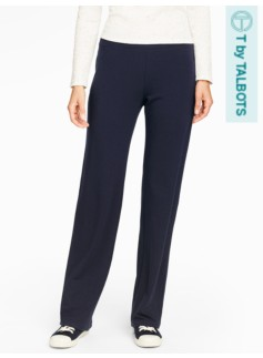 Weekend Terry Pull-On Pants