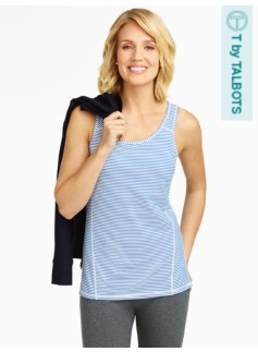 Performance Aspire Striped Tank Top