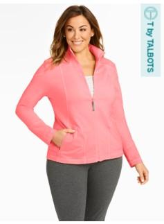 Full-Zip Yoga Jacket