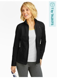 Full-Zip Yoga Jacket