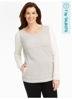Hazy Stripe Pullover