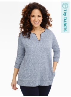 Terry Tunic Top