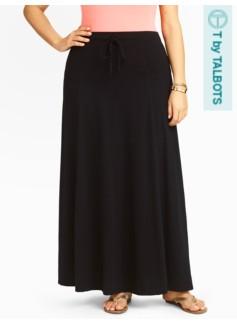 Slub Jersey Skirt