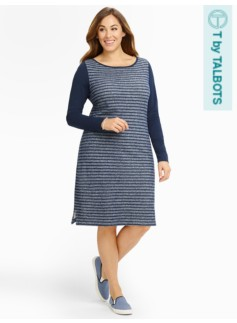Colorblocked & Stripes Dress