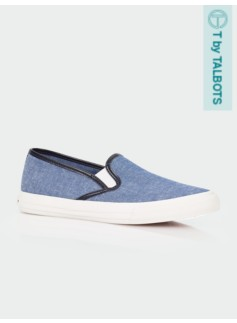 Liv Chambray Slip-On Sneakers