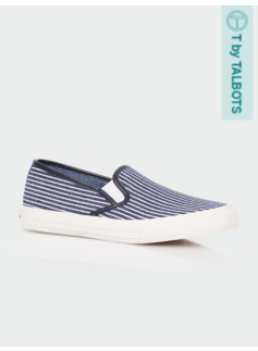 Liv Shadow Stripe Slip-On Sneakers
