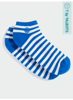 Striped Athletic Ankle Socks