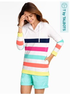 Cabana-Stripe Hoodie