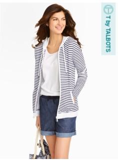 Starboard-Stripe Hoodie
