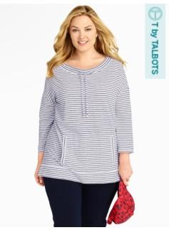 Serene Stripe Pullover Top