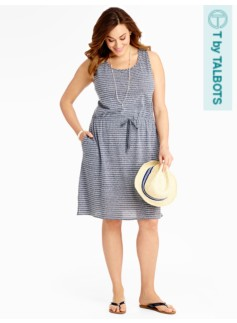 Serene Stripe Dress