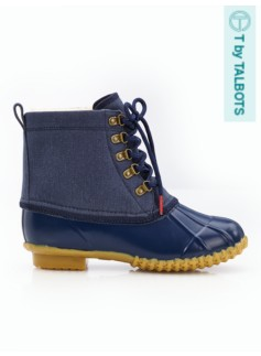 Duxbury Brushed Denim Duck Boots