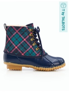 Duxbury Plaid Duck Boots