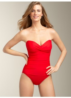 Barcelona Sweetheart Strapless Miraclesuit�