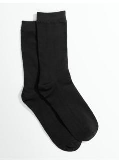Microfiber Flat Knit Trouser Socks