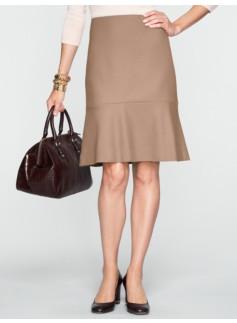 Italian Flannel Trumpet Skirt