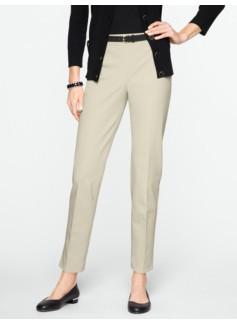 Slimming Heritage Cotton Bi-Stretch Ankle Pants