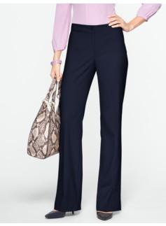 Curvy Lindsey Flare-Leg Trousers