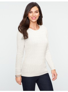 Talbots Cozy Cable Sweater