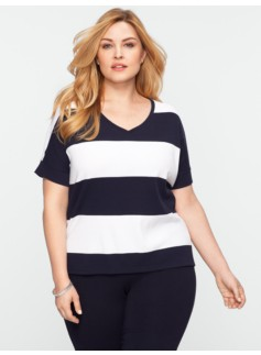 Cotton Rugby-Stripe Tee