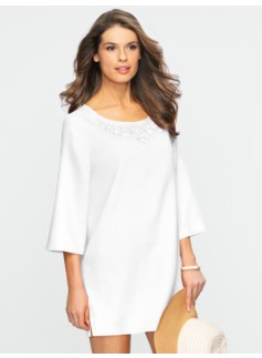 Beaded Linen Tunic
