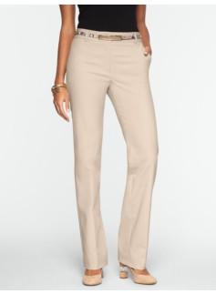 Heritage Double-Weave Straight-Leg Pants