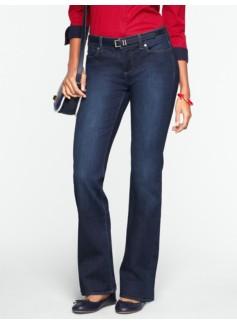 Slimming Signature Dark Ocean Wash Bootcut Jeans
