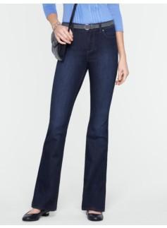 Slimming Heritage Dark Ocean Wash Bootcut Jeans