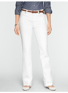 Slimming Heritage White Bootcut Jeans