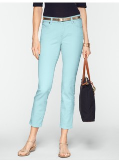 Slimming Signature Colored Crop Jeans