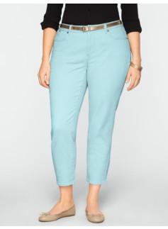 Slimming Heritage Colored Crop Jeans