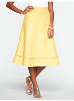Linen Full Skirt