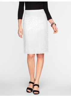 Crocheted Flower Lace Skirt