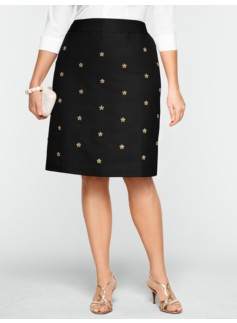 Faille Bead & Sparkle Skirt